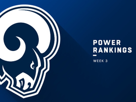 Watch: Rams jump to No. 1 spot ahead of Week 3 | Power Rankings