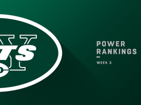 Watch: Jets fall 5 spots in Week 3 | Power Rankings