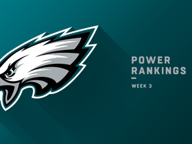 Watch: Are the Eagles too high at No. 8? | Power Rankings
