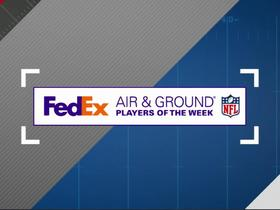 Watch: FedEx Air and Ground Players of Week 2 nominees