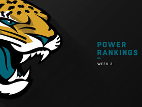 Watch: Jaguars rise three spots in Week 3 | Power Rankings