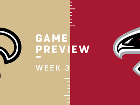 Watch: Saints vs. Falcons Week 3 preview | NFL Playbook