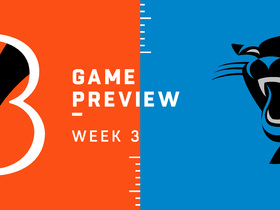 Watch: Bengals vs. Panthers Week 3 preview | NFL Playbook