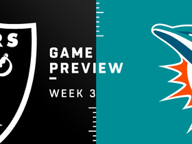Watch: Raiders vs. Dolphins Week 3 preview | Baldy's Breakdowns