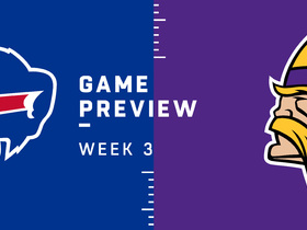 Watch: Bills vs. Vikings Week 3 preview | Baldy's Breakdowns