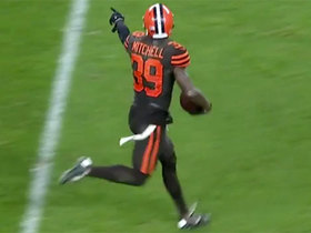 Watch: Terrance Mitchell ices Browns' win with crucial INT