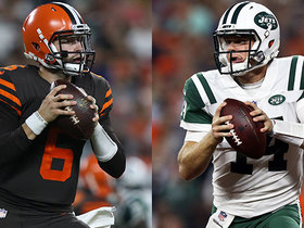 Watch: Mayfield vs. Darnold head-to head-highlights | Week 3