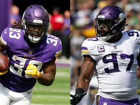 Watch: Rapoport: Cook, Griffen ruled out Sunday vs. Bills