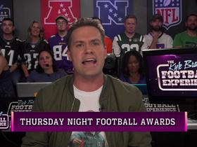 Watch: Brandt's Week 3 'TNF' awards | Kyle Brandt Football Experience
