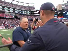 Watch: Bill Belichick's most memorable postgame handshakes