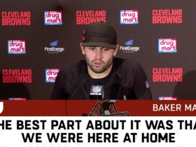 Watch: The best postgame sound from the Browns' win