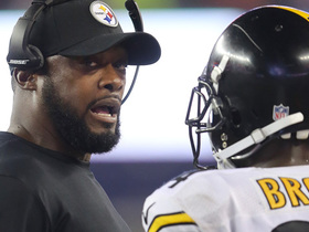 Watch: Robinson: Tomlin missed an opportunity to 'discipline A.B. out in public'