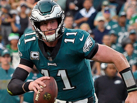 Watch: Tom Pelissero: Carson Wentz will be missing some key teammates in his return