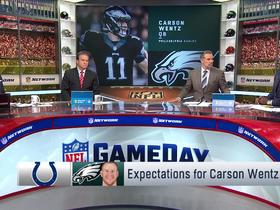 Watch: What are the expectations for Carson Wentz vs. Colts?