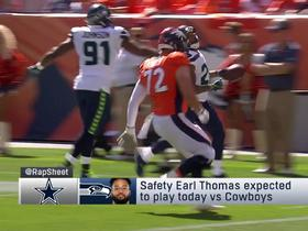 Watch: Rapoport: Cowboys still interested in trading for Earl Thomas