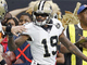 Watch: Ted Ginn throws Robert Alford to the ground on TD catch