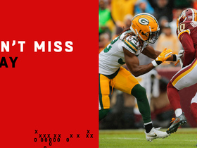 Watch: Can't-Miss Play: Smith, Richardson burn Packers D on 46-yard TD