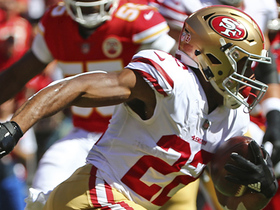 Watch: Matt Breida shows incredible elusiveness on 26-yard run