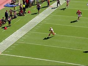Watch: 49ers fool Chiefs defense on 35-yard TD catch by Kyle Juszczyk