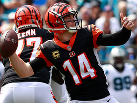 Watch: Dalton fakes Panthers defense, throws to Uzomah for 1-yard touchdown