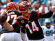Watch: Dalton fakes out Panthers defense on TD throw to Uzomah