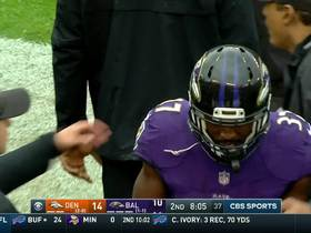 Watch: Allen stretches out towards the pylon for Ravens TD