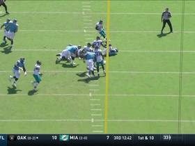 Watch: Calais Campbell takes down Mariota for his second sack of the game