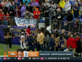 Watch: Lindsay ejected in second quarter for unnecessary roughness