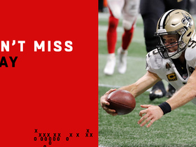 Watch: Can't-Miss Play: Drew Brees hits B button for key TD