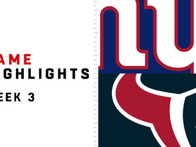 Watch: Giants vs. Texans highlights | Week 3