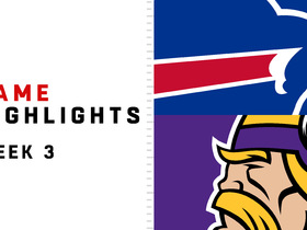 Watch: Bills vs. Vikings highlights | Week 3