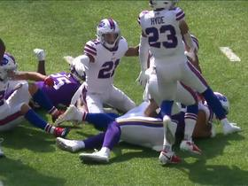 Watch: All of the forced turnovers by the Bills | Week 3