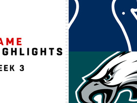 Watch: Colts vs. Eagles highlights | Week 3