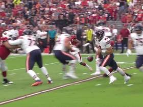 Watch: Robert Nkemdiche hits ball from Trubisky's hands, forces fumble