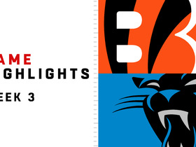 Watch: Bengals vs. Panthers highlights | Week 3