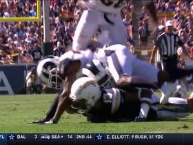 Watch: Lamarcus Joyner recovers Talib's forced fumble on Keenan Allen