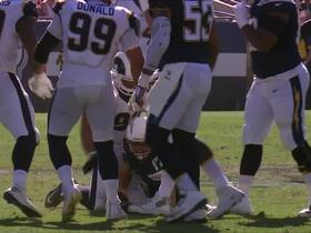 Watch: Suh bears down on Rivers for his first sack as a Ram