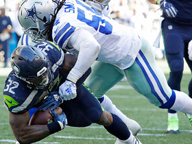 Watch: Chris Carson smashes through arm tackles for 5-yard TD