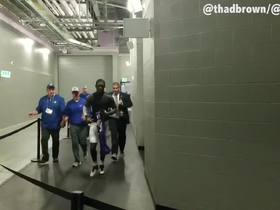 Watch: White screams 'you like that' after Bills beat Vikes