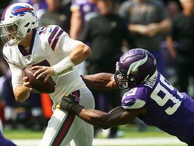 Watch: Danielle Hunter takes down Josh Allen for a 7-yard loss | True View
