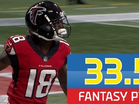 Watch: Fantasy Tracker: See every point from Ridley's 33.5-point day
