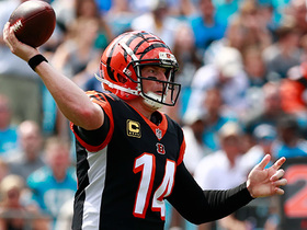 Watch: See how Andy Dalton found Tyler Boyd for a 49-yard gain | True View