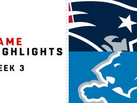 Watch: Patriots vs. Lions highlights | Week 3