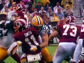 Watch: Referee provides explanation for Clay Matthews' penalty vs. Redskins