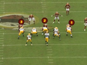 Watch: How Redskins front defeated Rodgers in Week 3 | Baldy's Breakdowns