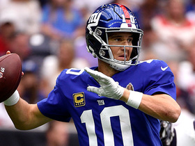 Watch: How Eli got Giants offense in motion in Week 3 | Baldy's Breakdowns
