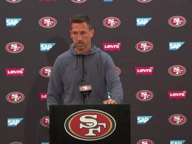 Watch: Shanahan names three QBs that 49ers will bring in for workouts