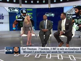 Watch: Maurice Jones-Drew: If Earl Thomas played on the Cowboys in Week 3, they would have won
