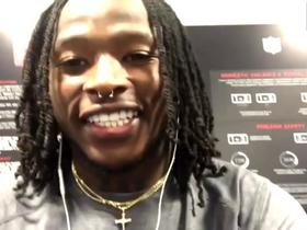 Watch: Alvin Kamara discusses Saints' OT win with Deion Sanders
