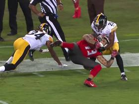Watch: Can't-Miss Play: Evans grabs 51-yard dime amid two Steelers